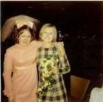 1960s bridesmaid dress